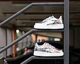 Жіночі кросівки Nike Air Force 1 SP Liquid Metal Silver, фото 9