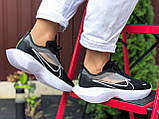 Женские кроссовки Nike Vista Lite черные с белым, фото 2