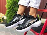 Женские кроссовки Nike Vista Lite черные с белым, фото 3