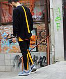Чоловічий спортивний костюм Світшот Стропи + штани (оранж), фото 4