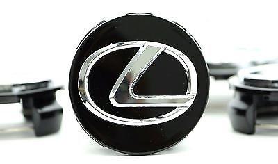 Колпачок заглушка для литых дисков в диски Лексус Lexus 62/57/17 мм. черный