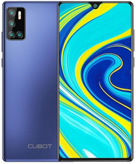 Cubot P40 | Синий | 4/128 ГБ | NFC | 4G/LTE | Гарантия