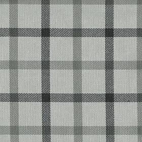 Ткань для мебели, жаккард в клетку Эдинбург (Edinburgh) светло-серого цвета