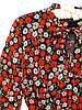 Яркое шифоновое платье в цветы (42-48), фото 5