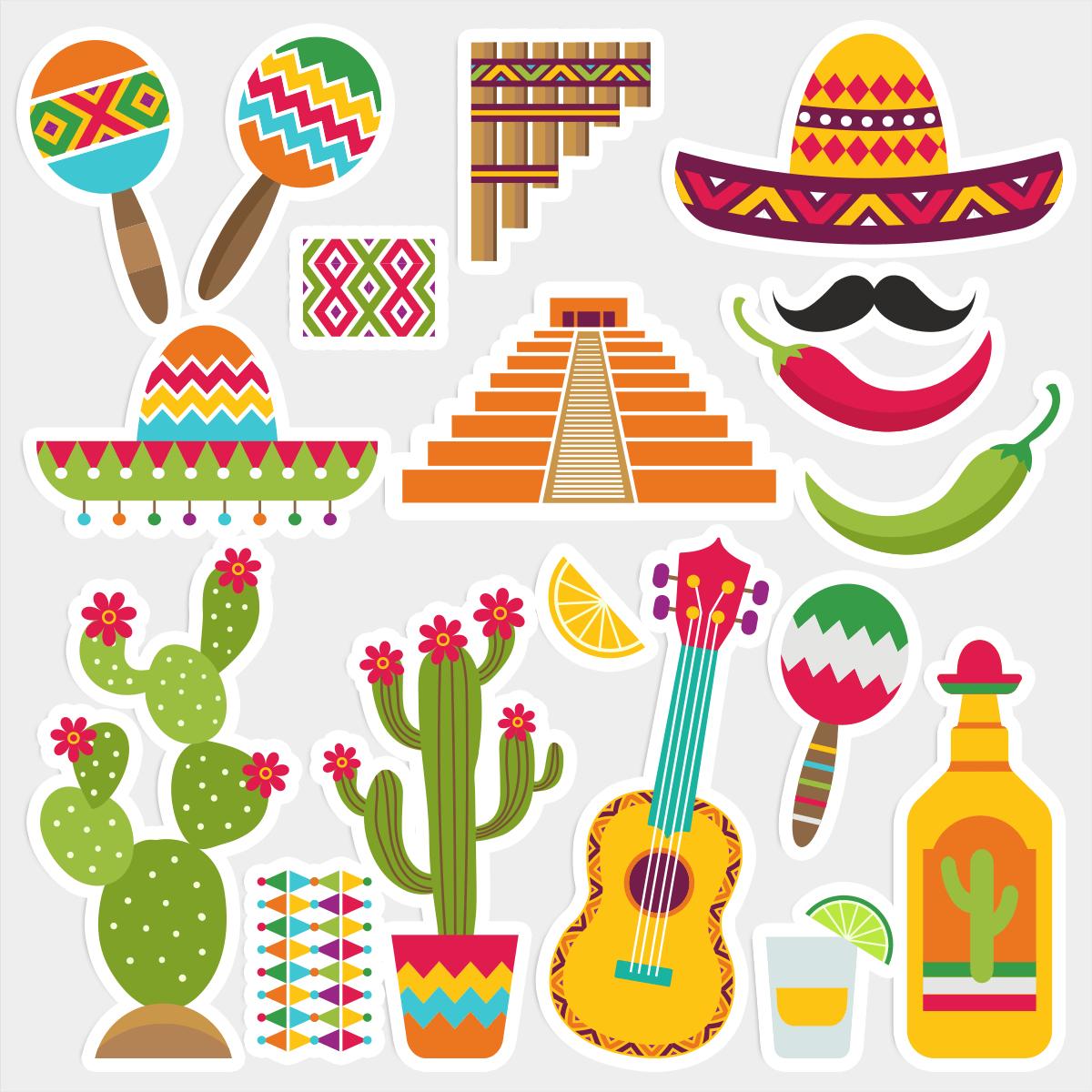Фотобутафория Мексика 18 элементов