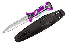 Нож для дайвинга SS 35 (фиолетовый)