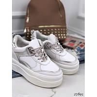 Сникерсы кроссовки на платформе Supreme, фото 1