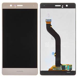 Модуль (дисплей+сенсор) для Huawei P9 Lite / G9 Lite золотий, фото 2