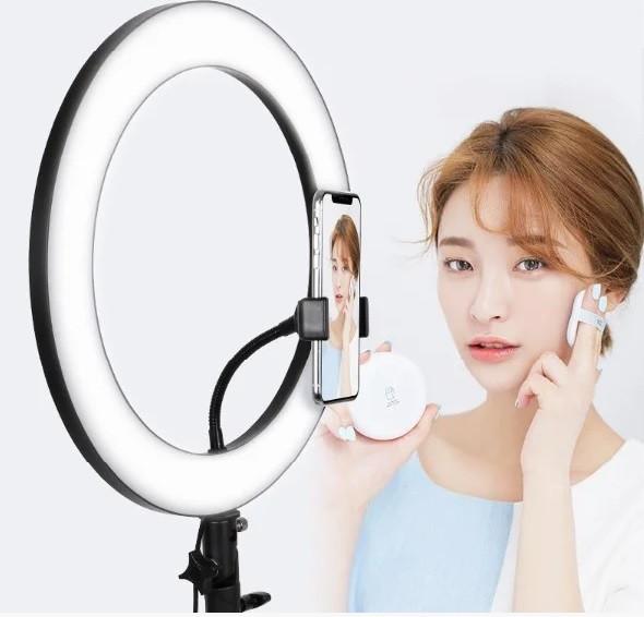 Кольцевая лампа 32 см без штатива