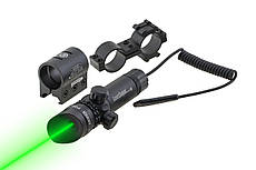 Лазерный целеуказатель ЛЦУ - JG1/3G (зел луч) - BASSELL
