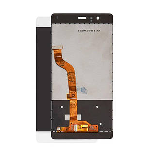 Модуль (дисплей+сенсор) для Huawei P9 EVA-L09(Single SIM)/EVA-L19/EVA-L29(Dual SIM) білий, фото 2