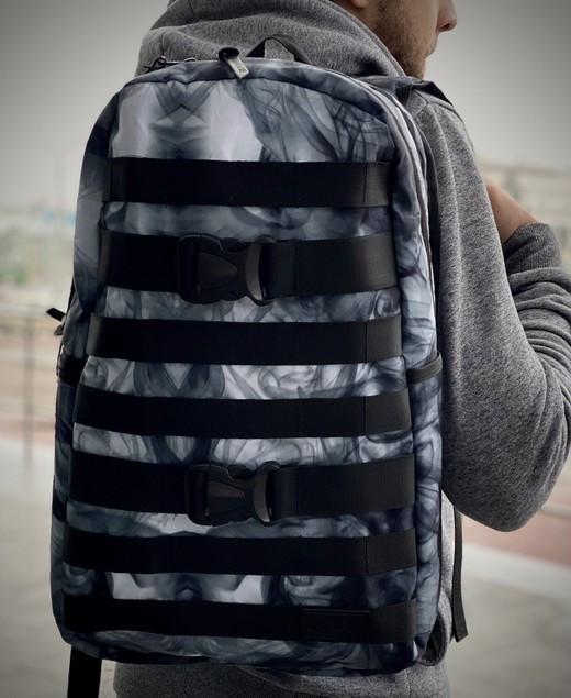 "Рюкзак в стиле Fazan Intruder V1 ""Black/White"""