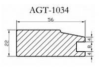 Профиль МДФ AGT 1034