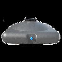 Бак для душа пластиковый 150 литров (емкость для душа) с насадкой лейкой, фото 1