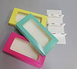 Коробка для міні еклерів 220*110*40 (берюзовая), фото 3