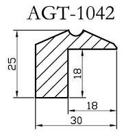 Профиль МДФ AGT 1042