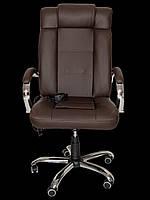 Офисное массажное кресло с подогревом Zenet Zet-1180