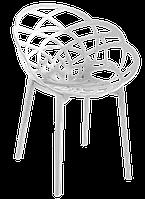 Кресло Papatya Flora матовый белый, фото 1