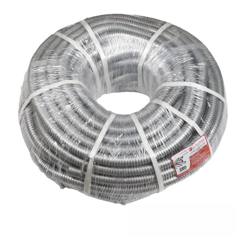 ElectroHouse Металорукав Light 12мм 50м товщина 0,18 мм