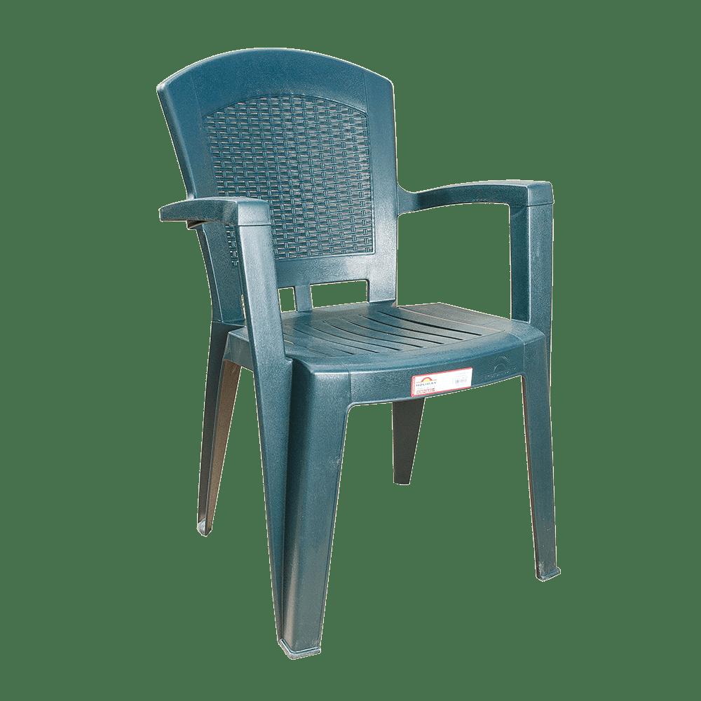 Кресло Irak Plastik Afrodit зеленое