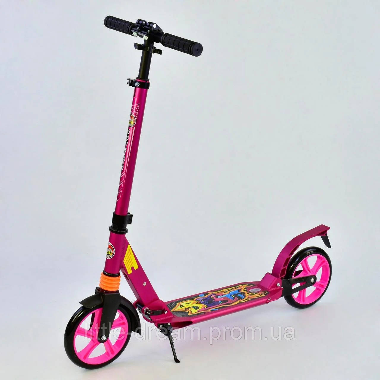 Самокат Best Scooter 00692, розовый