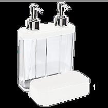Органайзер для ванной и кухни Planet 0,5 + 0,3 л белый