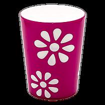 Стакан декорований PAPATYA 0,3 л рожевий