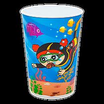 Стакан 0,5 л 3D Dodo море