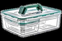 Набор контейнеров KOMBI SET с ручкой, общий обьем 9,5 л, фото 1