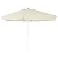 Зонт професійний Papatya Ø 2 м круглий бежевий