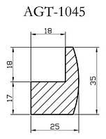 Профиль МДФ AGT 1045