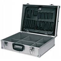 Кейс ящик для инструмента Topex 79R220 45x15x32 см алюминиевый