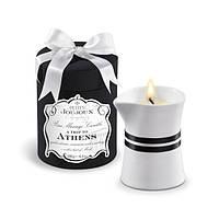 Свеча массажное масло с ароматом мускуса и пачули Petits Joujoux Athens 190 г