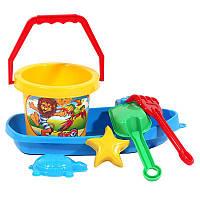 """Набор """"Кораблик"""", песочные наборы,игрушки в песочницу,наборы в песочницу,детская лейка"""