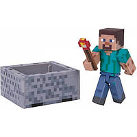 Minecraft S3 Майнкрафт фигурка Стив 16480 Steve Action Figure