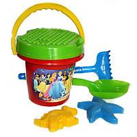 """Песочный набор """"Большой"""", песочные наборы,игрушки в песочницу,наборы в песочницу,детская лейка"""
