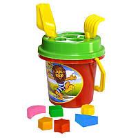 """Песочный набор """"Умный малыш"""", песочные наборы,игрушки в песочницу,наборы в песочницу,детская лейка"""