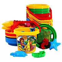 """Песочный набор """"Большой """", песочные наборы,игрушки в песочницу,наборы в песочницу,детская лейка"""