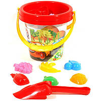 Песочный набор 1, песочные наборы,игрушки в песочницу,наборы в песочницу,детская лейка