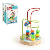 """Деревянная игрушка """"Лабиринт"""", Игрушки для малышей,Деревянные игрушки,Деревянные шнуровки,Деревянная игрушка"""