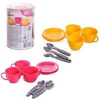 """Игрушка""""Чайный сервиз"""", игрушки для девочек,детская бытовая техника,дитяча посудка,іграшки для дівчаток"""