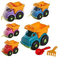 Детский набор : автобус, лопатка, грабли, машинка,детские машинки