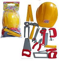 Набор инструментов 12 шт с каской в кул, набор инструментов детских,игрушки для мальчиков