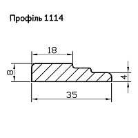 Профиль МДФ AGT 1114