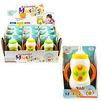 """Музыкальная погремушка """"Milk Bottle"""", неваляшки,погремушки,игрушки для малышей,товары для новорожденных"""