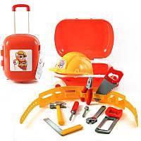Набор инструментов в чемодане, набор инструментов детских,игрушки для мальчиков