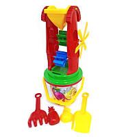 Песочный набор 6, песочные наборы,игрушки в песочницу,наборы в песочницу,детская лейка