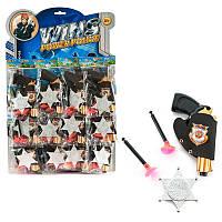 Набор полицейского (цена за лист / 12штук), игрушки для мальчиков,детские игрушки,набор,іграшка