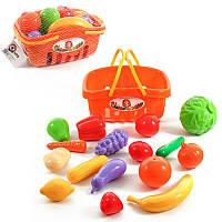 Набор продуктов в корзинке, игрушки для девочек,детская бытовая техника,дитяча посудка,іграшки для дівчаток
