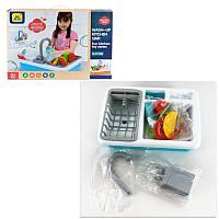 Кухня (льется вода), игрушки для девочек,детская бытовая техника,дитяча посудка,іграшки для дівчаток